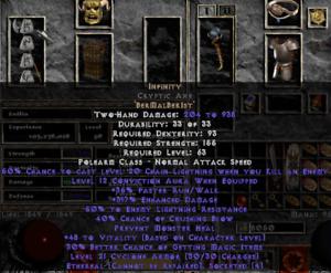 Diablo 2 items
